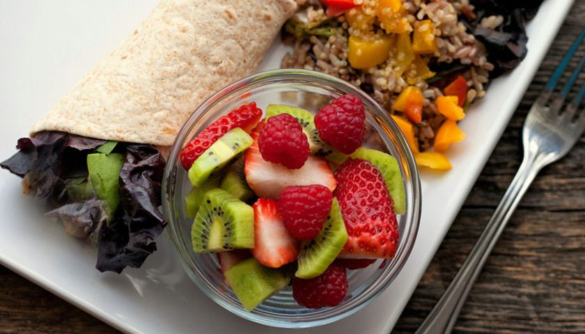 plant based meal for healthy gut