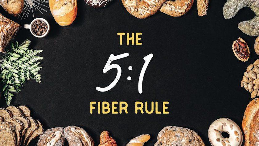 5-1 fiber rule