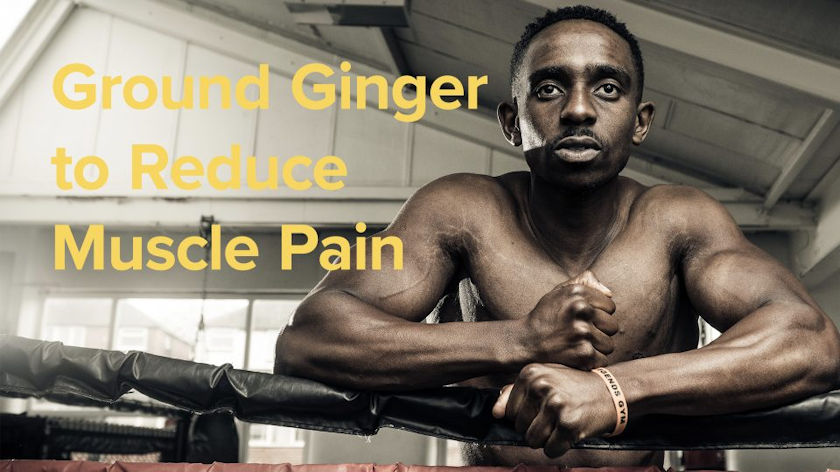 ginger for muscle pain'