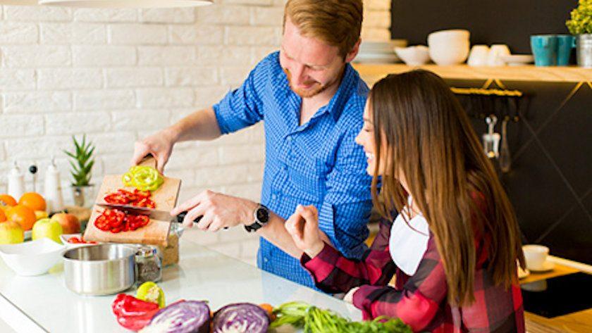 healthy food prep