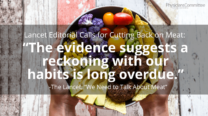 lancet meat quote