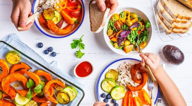 Plant-Based Diets Lower Risk Factors for Heart Failure