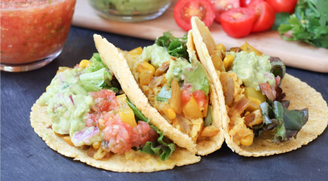 Recipe: Easy Veggie Tacos