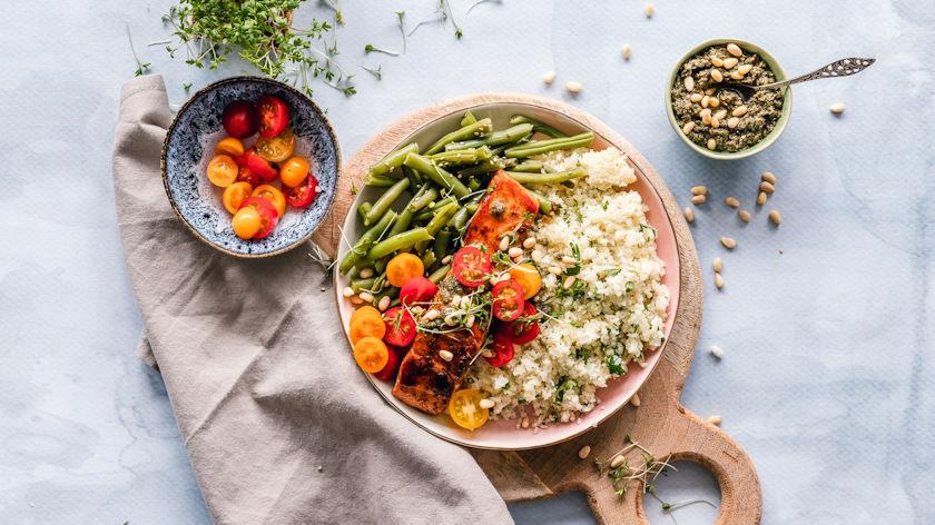 quinoa plate